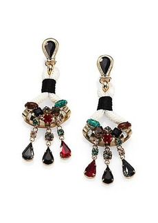 Etro Jeweled Chandelier Earrings