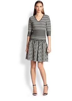 Etro Knit Flounce Dress