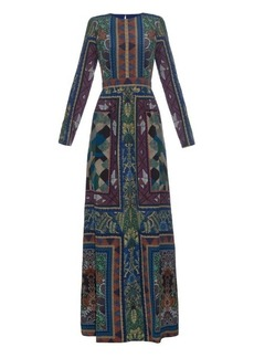 Etro Lou Lou printed-silk gown