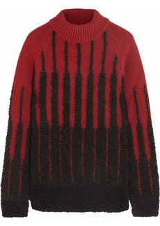Etro Magalia intarsia wool-blend sweater
