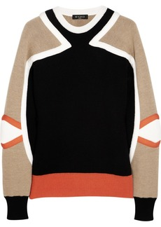 Etro Maglia World Traveller color-block wool sweater