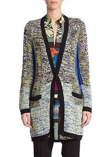 Etro Melange Knit Cardigan