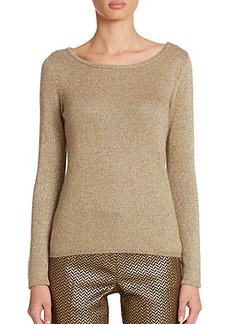 Etro Metallic Knit Top