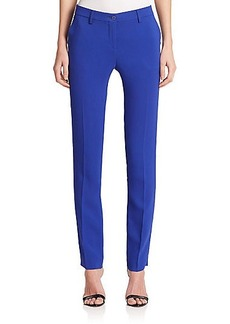 Etro Mid-Rise Crepe Pants