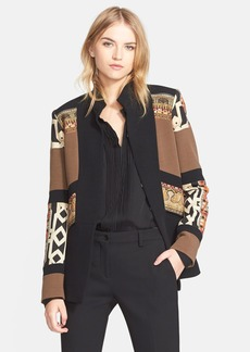 Etro Mix Print Wool Blend Jacket