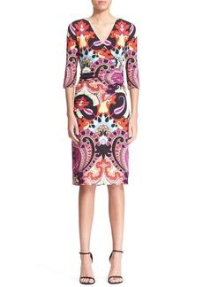 Etro Moroccan Print Jersey Dress