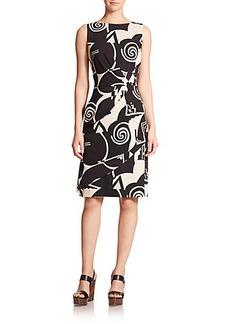 Etro Op Art Wool Dress
