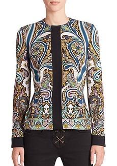 Etro Paisley Contrast Jacket