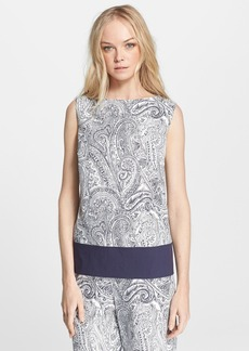 Etro Paisley Cotton, Silk & Linen Blouse