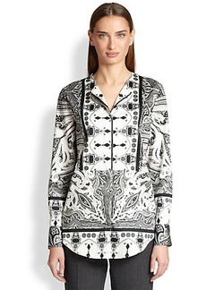 Etro Paisley Cotton Stretch Tunic