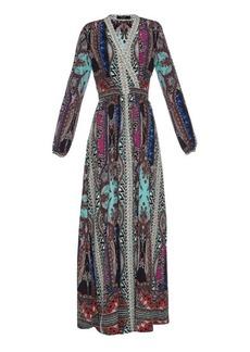 Etro Paisley-print silk gown