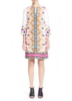 Etro Paisley Print Silk Tunic Dress
