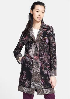 Etro Paisley Print Wool Blend Jacket