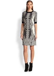 Etro Paisley Sweater Dress