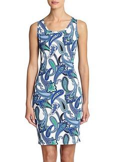 Etro Paisley Tank Dress