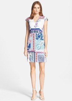 Etro Patchwork Floral Print Dress