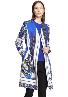 Etro Print Mix Print Textured Topper