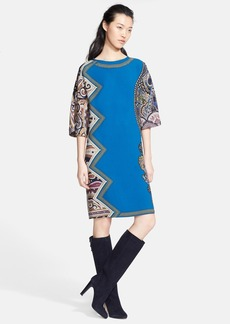 Etro Print Silk Tunic Dress
