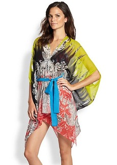 Etro Printed Cotton-Silk Caftan