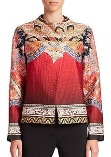 Etro Printed Ombré Matelassé Jacket