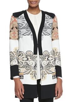 Etro Printed Short Topper Coat