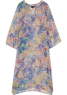 Etro Printed silk-chiffon kaftan