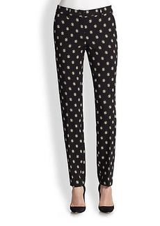 Etro Printed Slim Cady Pants