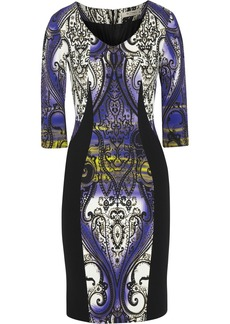 Etro Printed stretch-crepe dress