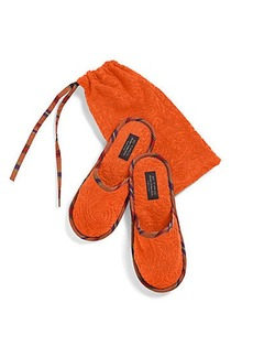Etro Roubert Slippers & Pouch