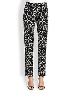 Etro Scroll Jacquard Trousers