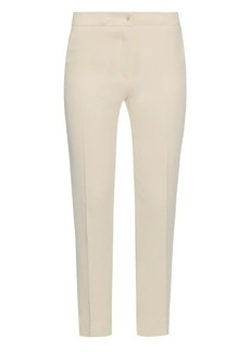 Etro Skinny-leg cropped crepe trousers