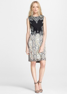 Etro Sleeveless Paisley Cady Dress