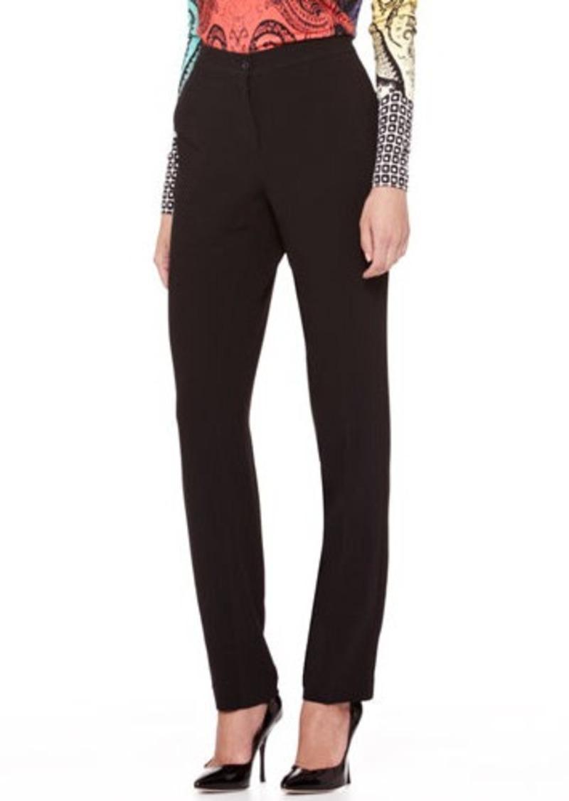 Etro Straight-Leg Cady Pants