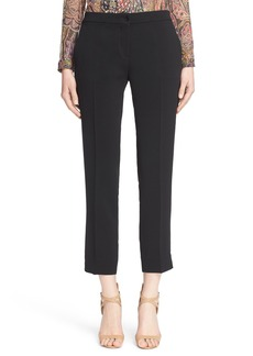 Etro Stretch Cady Ankle Pants