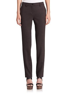 Etro Stretch-Wool Slim-Leg Trousers