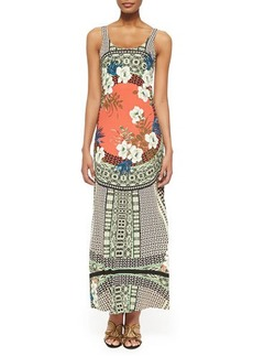 Etro Tank Maxi Dress with Tribal Print