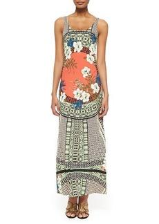 Etro Tank Maxi Dress with Tribal Print