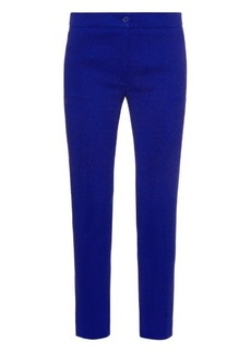 Etro Tapered-leg cropped trousers
