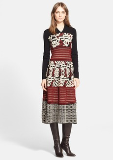 Etro Textured Knit Midi Dress