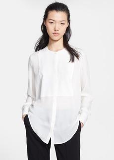 Etro Textured Silk Tunic Blouse