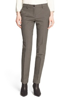 Etro Textured Stretch Cotton Pants