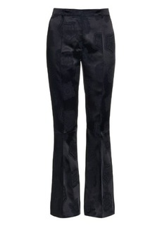 Etro Trumpet jacquard flared trousers