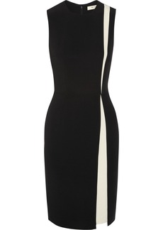 Etro Two-tone stretch-jersey dress