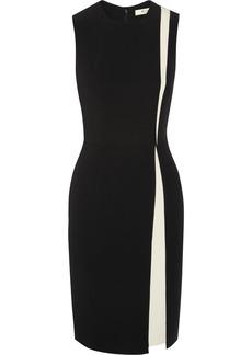 Etro Two-tone stretch-jersey dress