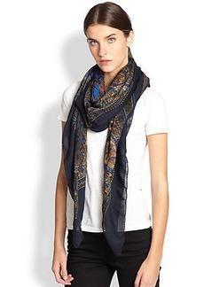 Etro Wool & Silk Scarf