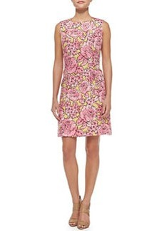 Peony Matelasse Sheath Dress   Peony Matelasse Sheath Dress