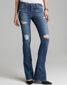 GENETIC Jeans - Riley Slim Boot in Destroy