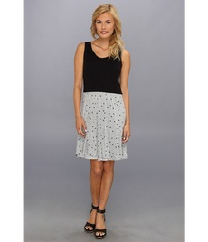 kensie Square Dot Dress KS4K9946
