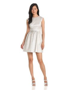 Cynthia Steffe Women's Stella Fit and Flare Dress