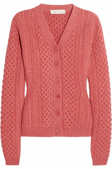 Stella McCartney Cable-knit wool cardigan